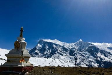 Ice Lake Stupa