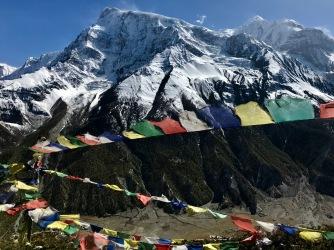 Annapurnas from Ice Lake hike