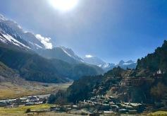 Bhraga with Gangapurna Peak behind