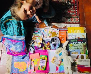 Celia's bag of essentials